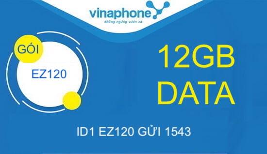 Hướng dẫn đăng ký gói cước EZ120 Vinaphone.