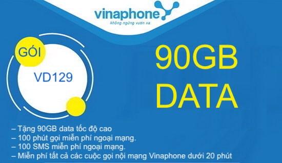 Hướng dẫn đăng ký gói cước VD129 Vinaphone.