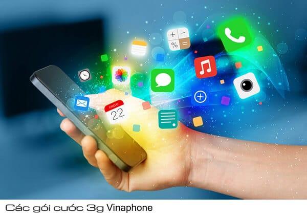 Tổng hợp các gói cước 3G Vinaphone.